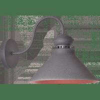Светильник настенный серый LOFT 1x40W E14 VESTA