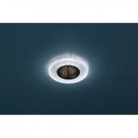 Светильник галогенный с подсветкой DK LD1 BL голубой