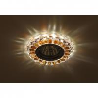 Светильник галогенный с подсветкой DK LD10 SL OR/WH прозрачный оранжевый