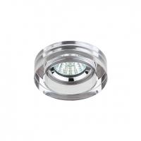 Светильник галогенный DK38 CH/SL хром/зеркальный