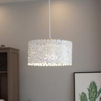 Люстра потолочная  Астерия Цветы (белый) 1хЕ27 Home Light