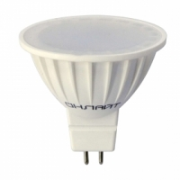 Лампа светодиодная MR16 (G5.3) 220V 5W 3000K 350lm Онлайт