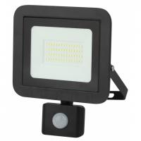 Прожектор светодиодный с датчиком движения регулируемый 50W 6500К IP65 ЭРА