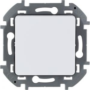 Инспирия (Легранд) Выключатель 1-кл. белый СП (механизм)