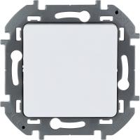 Инспирия (Легранд) Выключатель 1-кл. проходной белый СП (механизм)