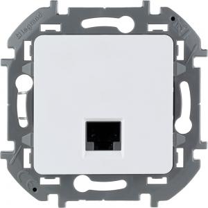 Инспирия (Легранд) Розетка компьютерная белый СП (механизм)